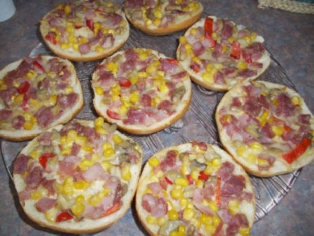 Pizzabrötchen- Aufstrich - Rezept