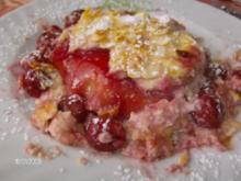 Kirsch-Lasagne mit Quark - Rezept