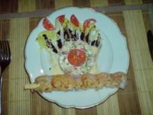 Surimi - Schinken - Salat - Rezept