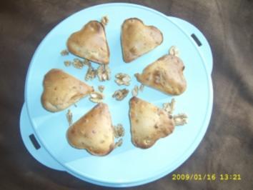 Walnuss - Ahornsirup - Muffins - Rezept