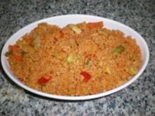 Gemüse-Pilaw - Rezept