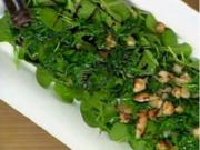 Gebräunter Spinatsalat - Rezept