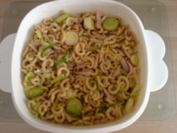 Rezept: Chinesischer Nudelsalat