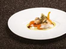 Gegrillte Coquille Saint-Jacques mit Curry-Kürbis - Rezept