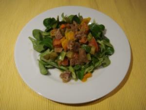 Salat: Rindfleischsalat - Rezept