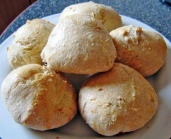 Bäckerbrötchen - Rezept