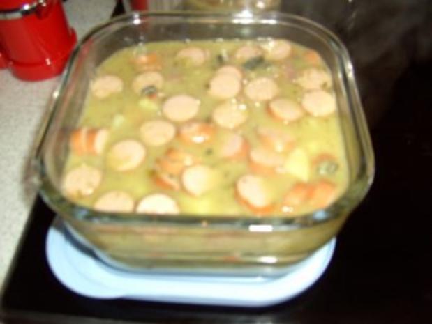 Erbsensuppe mit Eisbein und Rippchen - Rezept - Bild Nr. 5
