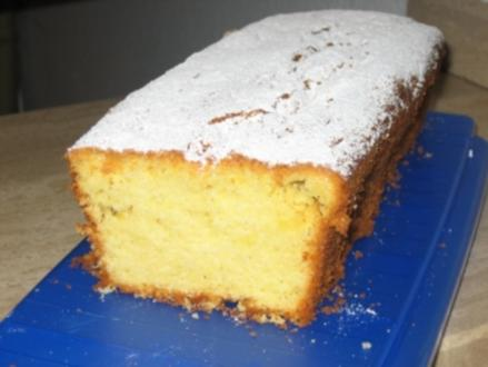 Limetten-Rührkuchen - Rezept
