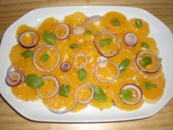 Orangensalat - Rezept