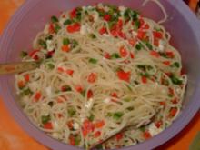 Spaghetti - Salat - Rezept