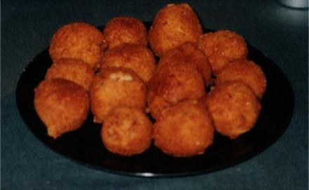 Karibische Kartoffel-Garnelen-Bällchen - Rezept