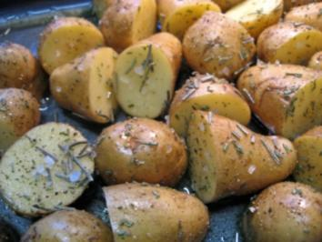 Kartoffeln vom Blech ... - Rezept