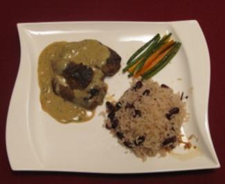 Island Steak Trinidad auf Creole Rice - Rezept
