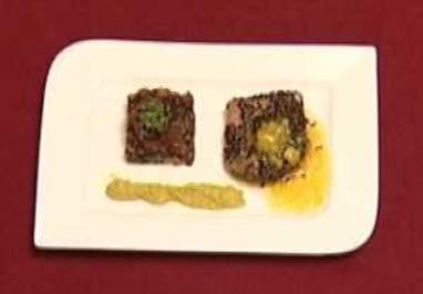 Variation vom Yellow Fin Tunfisch (Nicole da Silva) - Rezept