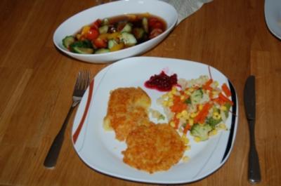 Sesam-Kartoffel-Laibchen - Rezept