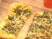 Schnelle Blätterteig-Pizza - Rezept
