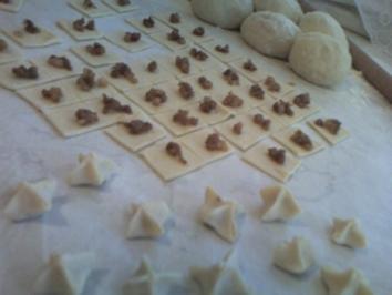 Rezept: Manti ( türkische ravioli)
