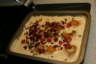 Huhn in mediteraner Sauce - Rezept