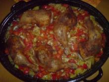Katalanische Hähnchenpfanne - Rezept