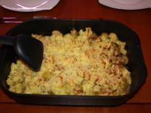Geschmorter Rosenkohl unter Kartoffelkruste - Rezept