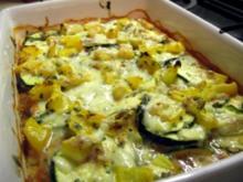 Leichtes Gemüse überbacken - Rezept