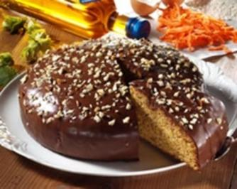 Schoko-Möhrenkuchen - Rezept