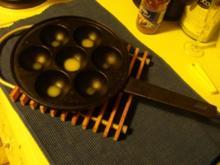 Förtchen auf Quittenschaum und geeistem Hagebuttenmus - Rezept