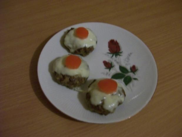 Käse-Tomaten-Frikadellen - Rezept
