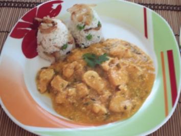 Huhn in Mangosoße – indisch - Rezept