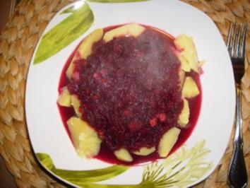 Rote Beete süß sauer warm mit Salzkartoffeln ein Rezept aus Ostpreußen !!!! - Rezept