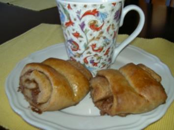 Frühstück  -  Franzbrötchen - Rezept - Bild Nr. 2