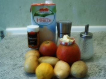 Apfel -Kartoffel -Püree - Rezept