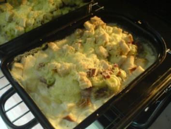 Schnitzel mit Käse-Haube - Rezept