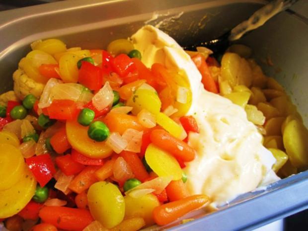 Russischer Gemüse-Salat - Rezept - Bild Nr. 4