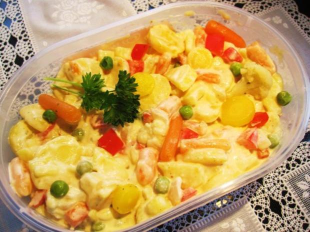 Russischer Gemüse-Salat - Rezept - Bild Nr. 5