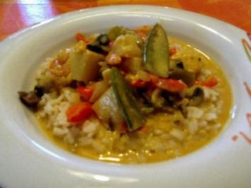 Garnelen Kokos-Curry-Topf - Rezept