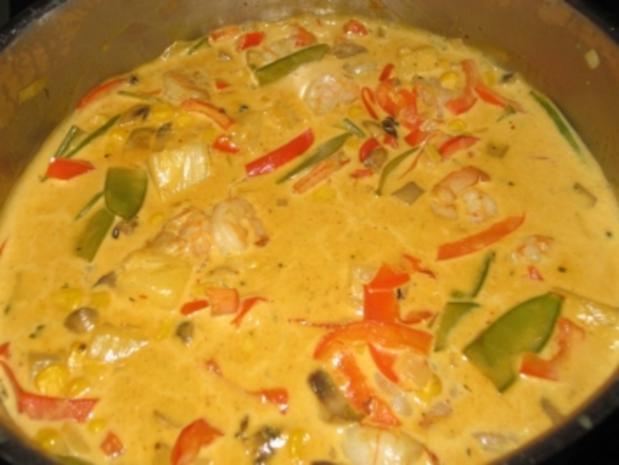 garnelen reis curry