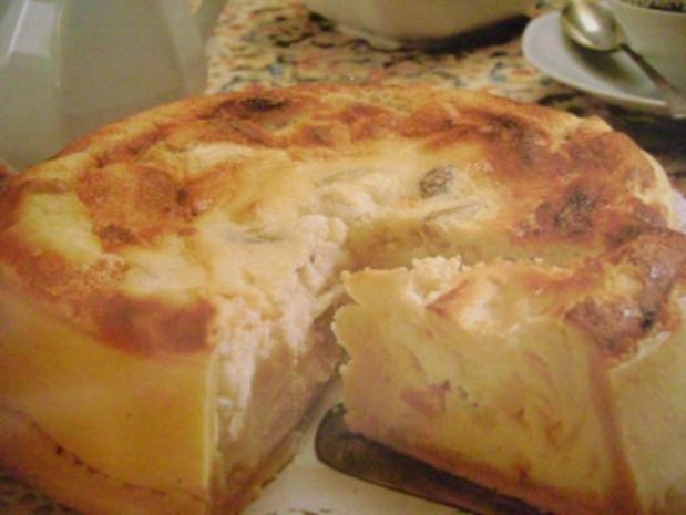 Käse oder Quarkkuchen - Rezept