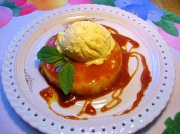 Ananasringe in Karamel - Rezept