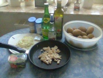 Rezept: warmer Kartoffelsalat