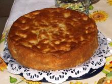 Kuchen: Saftiger Eierlikör- Apfelkuchen - Rezept