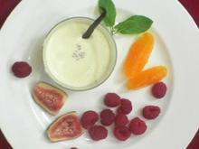 Panna Cotta mit Orangenblüten-Essenz - Rezept