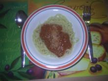 Nudeln - Spaghetti Bolognese - Rezept