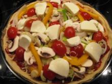 Frühlingspizza - Rezept