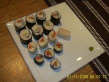 Sushi Hoso-Maki & Ura-Maki - Rezept