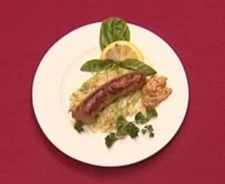Frankfurts beste Bratwurst traditionell auf Endivienstrünken (Holger Weinert) - Rezept