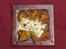 Fledermausgalle auf Transsilvanischem Filet mit süßen Blutstropfen (Eva Jacob) - Rezept