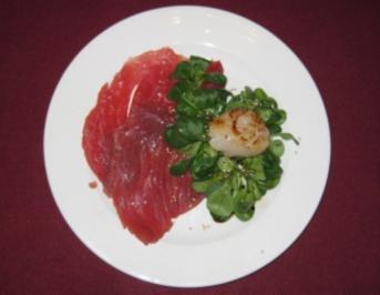 Carpaccio aus dem Meer - Rezept
