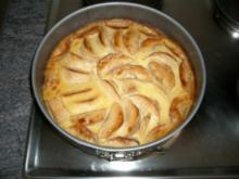 fettarmer Apfelkuchen - Rezept