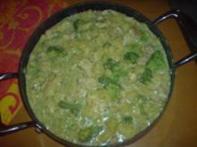 Fisch-Pfanne mit Broccoli in Senfsoße - Rezept